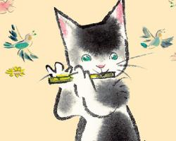 ■文具【音楽とあそぶネコたち(あまねこ)】
