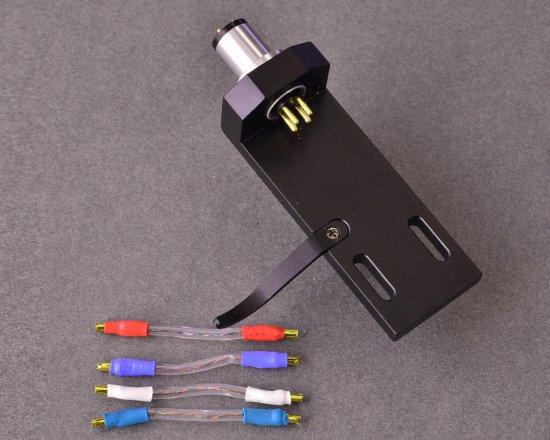 [セット商品] 特製リードワイヤー「ブラックキャット Matrix AR-C3」付属 ヘッドシェル AR-HD1