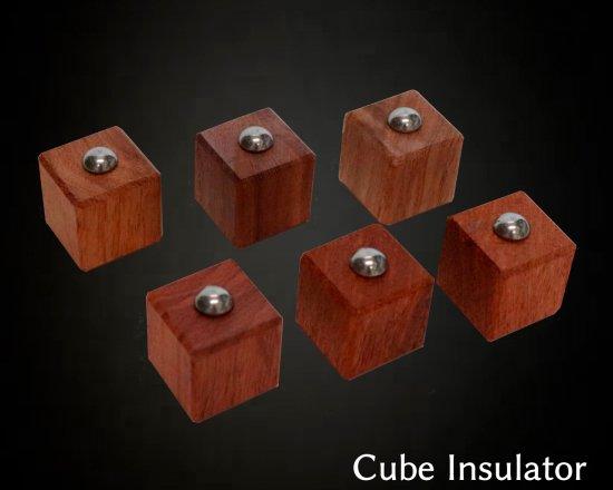 無垢キューブ・インシュレーター 6個セット