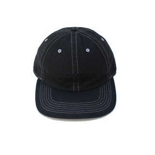Over Dye Logo CAP_Deep Black