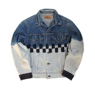Hand Dye US Denim Trucker Jacket