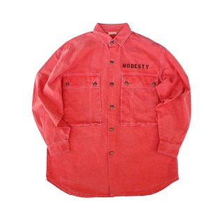 Hand Dye Colored Euro Work Shirt
