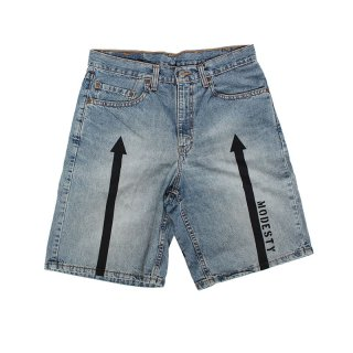 Hand Dye Denim Short PT