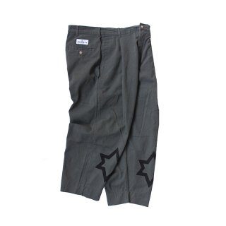 Hand Dye Custom made 1tuck Chino Trousers PT