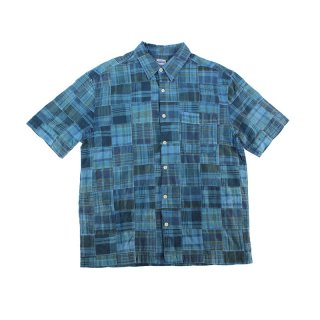 Aizome Patchwork Shirt
