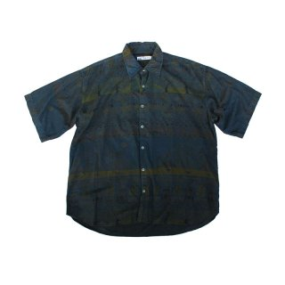Over Dye Pattern Shirt