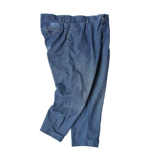 Custom made Denim Trousers PT_2tuck