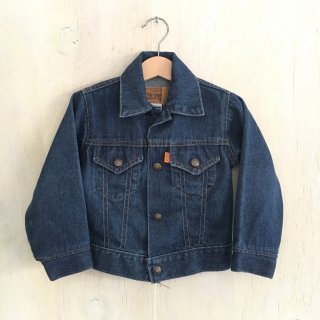 80's little levi's vintage denim jkt '72225' USA製(kids)