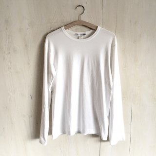 90's 'COMME des GARCONS SHIRT'  plain long sleeve T-shirt