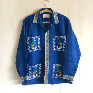 70s Guatemala embroidery shirts