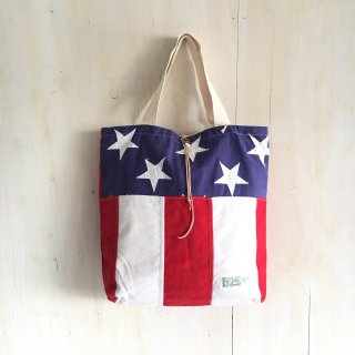 yavo lab ' American flag tote bag '