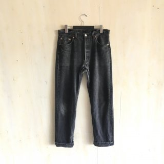 90's  levi's 501  black  made in USA