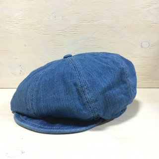 ' c-plus headwear '  CHEST NUT CASQUETTE /SUPIMA DENIM