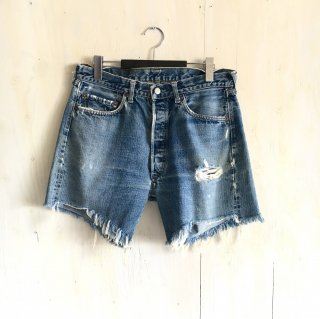 60's  levi's501  cutoff   BIG'E'