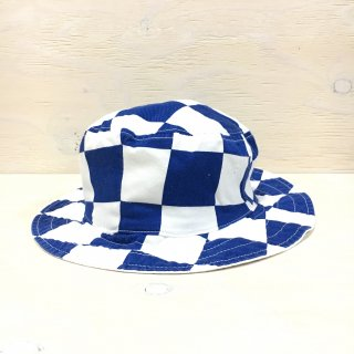 ' c-plus headwear '  CONBEX HAT /  CHECKER RVIB