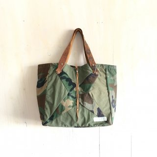 yavo lab ' kennedy quilt tote bag  midium '