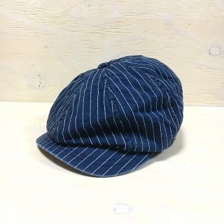 ' c-plus headwear '  ACORN CASQUETTE/ZIZI<br>(Navy Stripe)