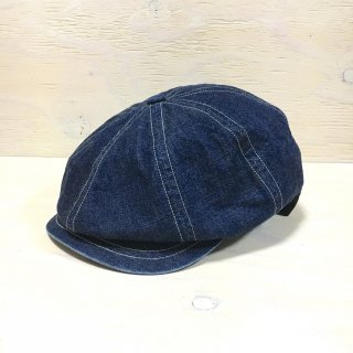' c-plus headwear '  ACORN CASQUETTE/ZIZI<br>(Denim)