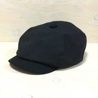 ' c-plus headwear ' SERVENT CASQUETTE /PICKET & OX <br>(Black)