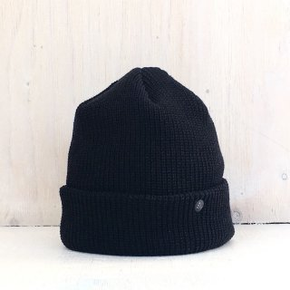 ' CPH c-plus headwear ' <br>CUF KNIT CAP<br>/UNI COLOR SHORT <br>(Black)