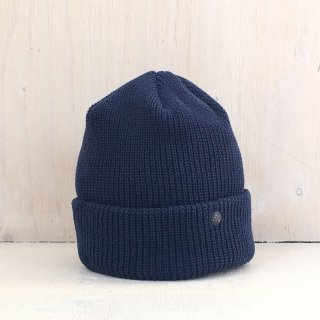 ' CPH c-plus headwear '<br> CUF KNIT CAP<br>/UNI COLOR SHORT <br>(Navy)