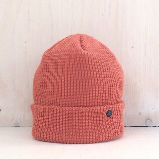 ' CPH c-plus headwear ' <br>CUF KNIT CAP<br>/UNI COLOR SHORT <br>(Brick)