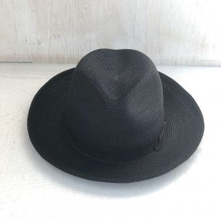 ' CPH c-plus headwear ' <br>A-PINCH LONG BRIM HAT <br>/ JUTE BLADE  <br>(black)