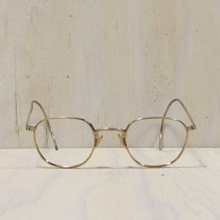60s ' American Optical ' Made In USA  <br>12KGF Metal Glasses<br>