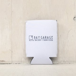 BAY GARAGE Koozie <br> White