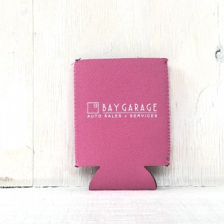 BAY GARAGE Koozie <br> Pink
