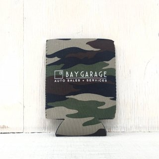 BAY GARAGE Koozie <br> Camo