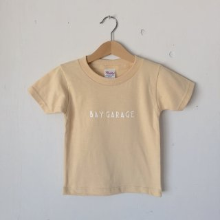 BAY GARAGE Printed T <br>Kids<br>Natural