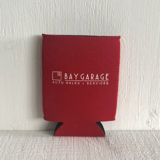 BAY GARAGE Koozie <br> Red