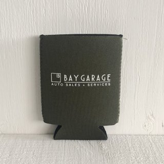 BAY GARAGE Koozie <br> Khaki