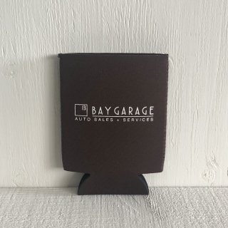 BAY GARAGE Koozie <br> Brown