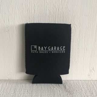 BAY GARAGE Koozie <br> Black
