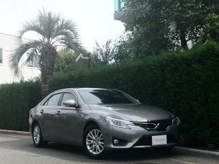 2013 Toyota Mark X 250G <br/>Ice Titanium Metalic <br/>34,000km