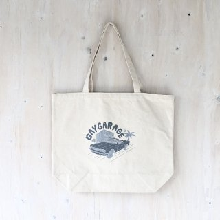 KIRARIN x BAY GARAGE <br> Canvas Tote <br> Lサイズ  Natural