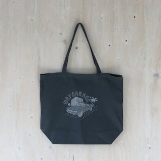 KIRARIN x BAY GARAGE <br> Canvas Tote <br> Lサイズ  Chacoal