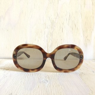 70's France Made Round Glasses<br>Tortoise