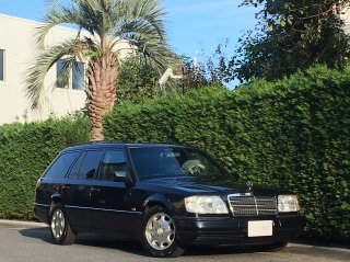 1996 Mercedes Benz E320T <br/> 1 owner <br/>LHD Leather & Sunroof