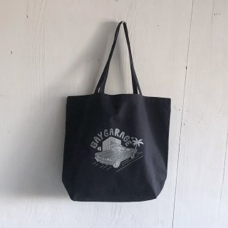 KIRARIN x BAY GARAGE <br> Canvas Tote <br>  Lサイズ  Navy
