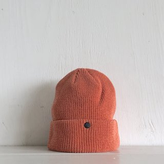 ' CPH c-plus headwear '<br> CUF KNIT CAP<br>/UNI COLOR SHORT <br>(Brick)