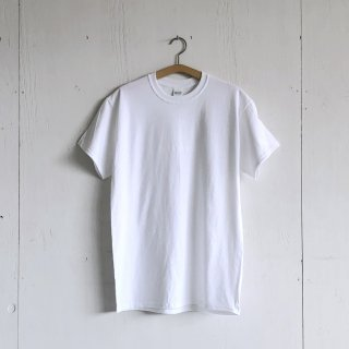 BAY GARAGE Printed T <br>'19 s/s<br> White x White Printed