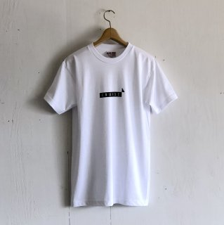 BAY GARAGE 1st aniversary <br>' CRUISE T '<br> White x Black Printed