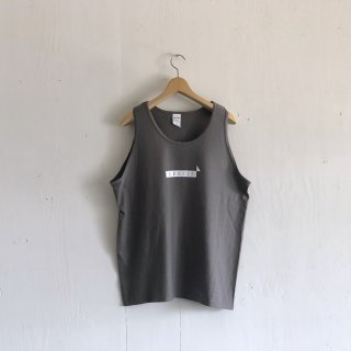 BAY GARAGE 1st aniversary <br>' CRUISE Tank '<br> Chacoal x White Printed