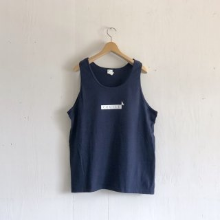BAY GARAGE 1st aniversary <br>' CRUISE Tank '<br>  Navy x White Printed