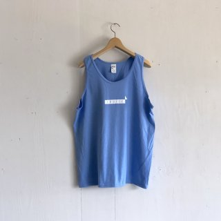 BAY GARAGE 1st aniversary <br>' CRUISE Tank '<br>  Sax x White Printed