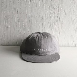 BAY GARAGE Six Panel Cap<br>  New Logo <br> l.gray