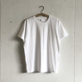BAYGARAGE T shirt<br>New Logo<br> white x White Printed
